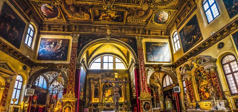 Church of San Zulian Saint Julian Venice Italy