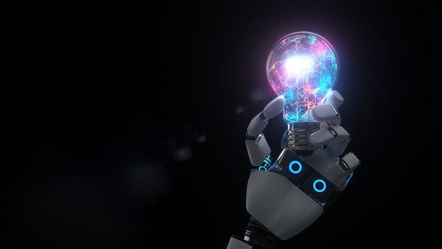 A.I. Robot Hand Bulb