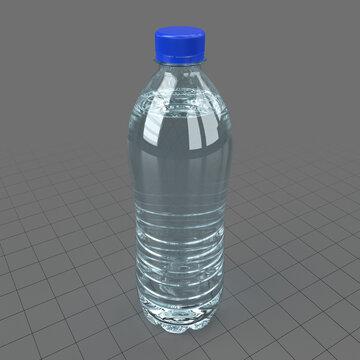 Plastic water bottle 6