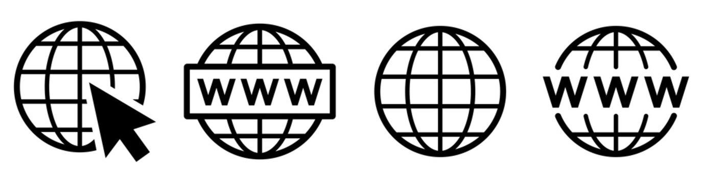 Website icon set. Web icons vector