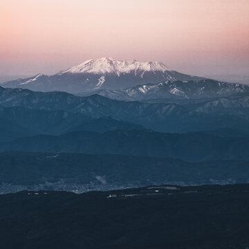 冠雪の御嶽山