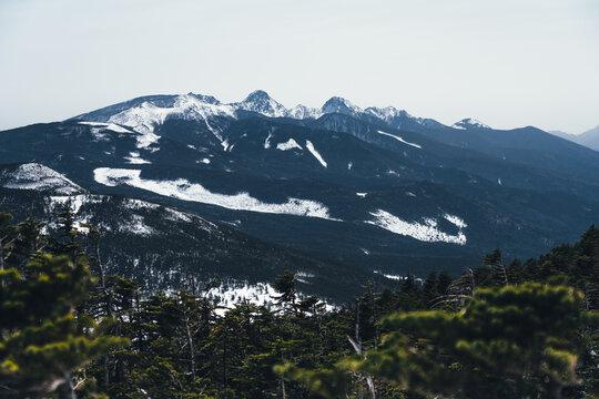 冬の八ヶ岳