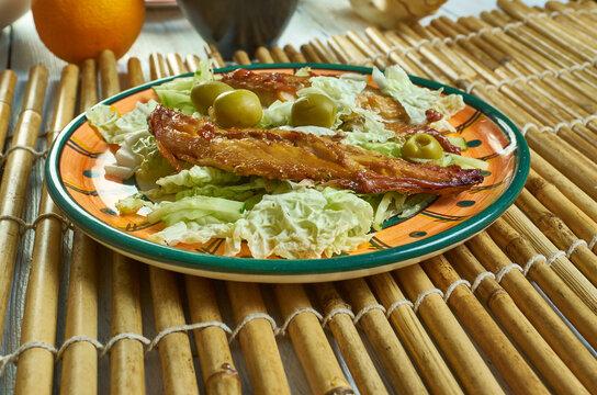 Moroccan-style mackerel
