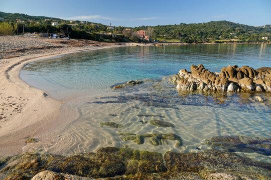 Plage à Portigliolo, Coti-Chiavari en Corse