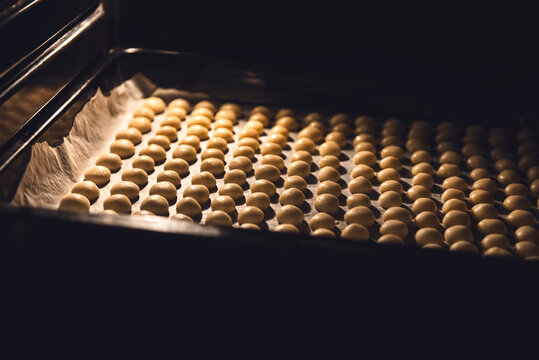 Baking Mini Cookies