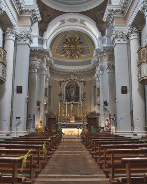 Santa Maria Goretti Church in Corinaldo village