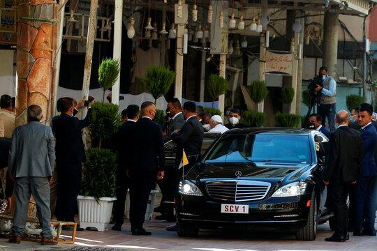Pope Francis visits Iraq