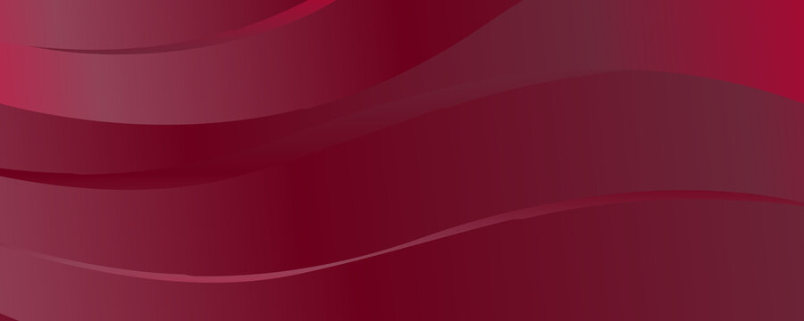 Modern maroon background with wave style