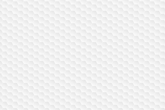 Hexagonal white pattern