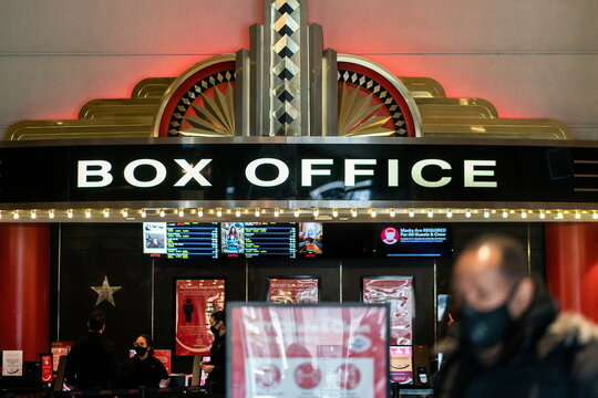 Movie theatres opening in New York City
