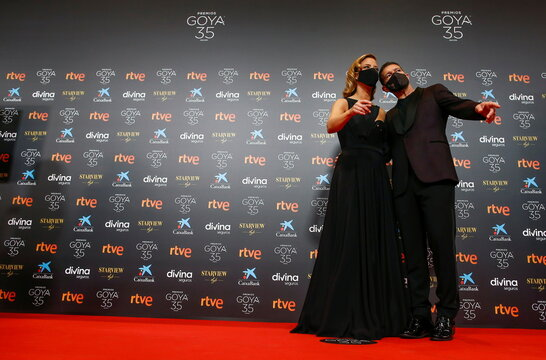 Spanish Film Academy's Goya Awards in Malaga