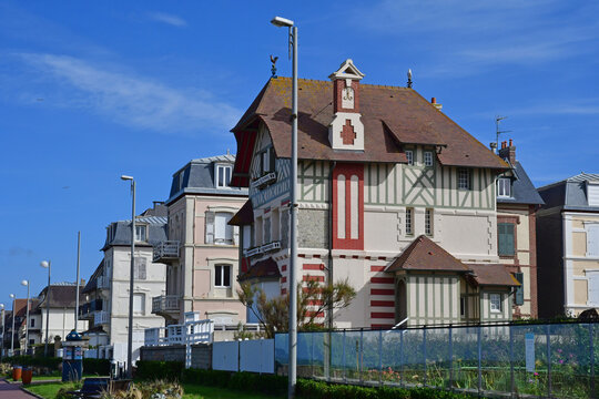 Cabourg; France - october 8 2020 : the picturesque city