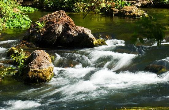 The very beginnings of Tampa Florida's Hillsborough River at Hillsborough River State Park