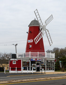 The Windmill Burger Restaurant