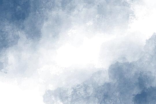 dark blue indigo watercolor splash background