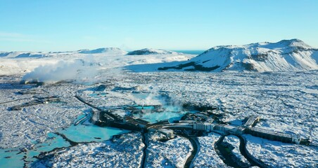 Glaciers and Mountains and Valleys of Iceland