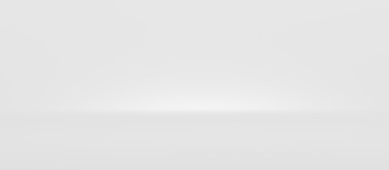 Blur white abstract wide background and light backdrop room with empty blank gradient wallpaper...