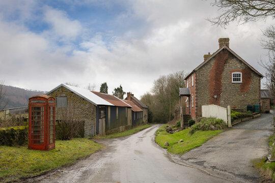 Upper Lye, Herefordshire, England.