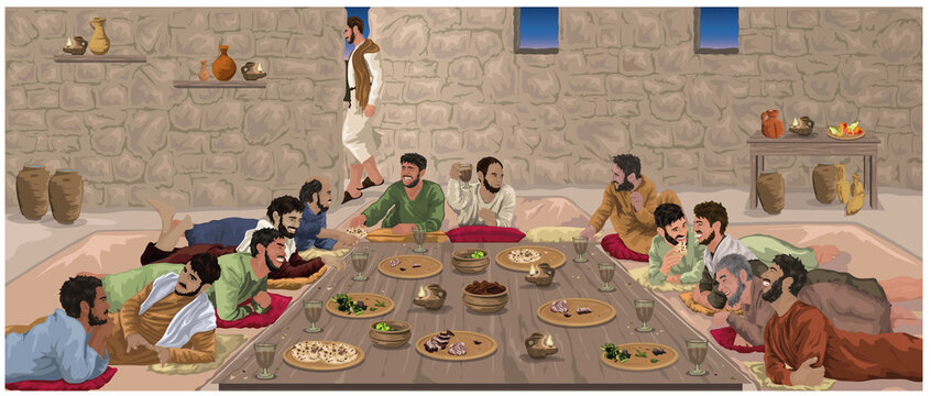The Last Supper - Jesus Celebrates Passover With His disciples