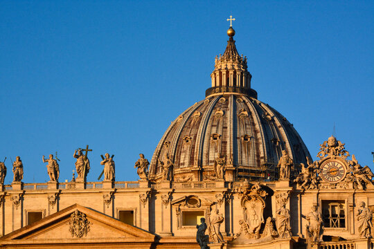 Roof of the St. Peter's Basilica