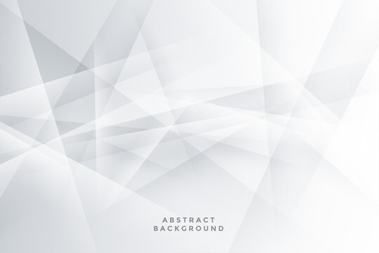 abstract white background with geometric lines shapes