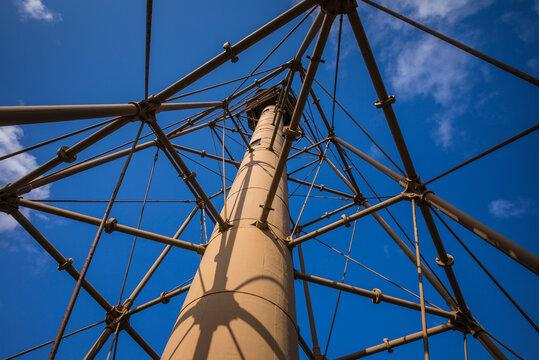 USA, Massachusetts, Marblehead, Candler Hovey Park, Marblehead Lighthouse