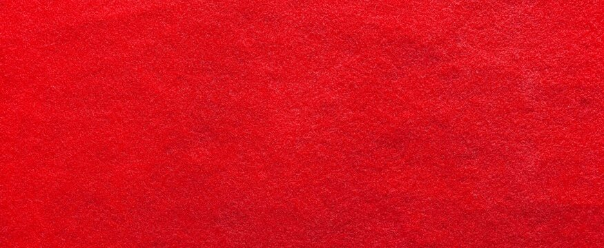 Panorama of New red carpet fabric texture and background seamless