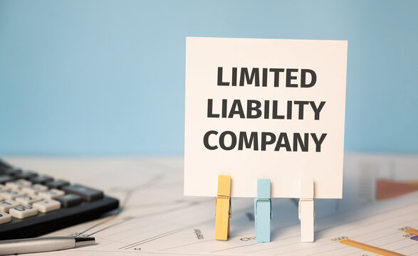 LIMITED LIABILITY COMPANY Finances and business concept.