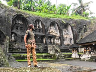 Travel to Asia. Bali island Wall mural