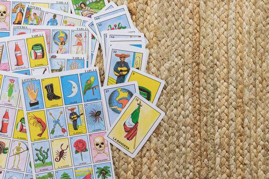 La Lotería Mexicana, juego de mesa familiar.