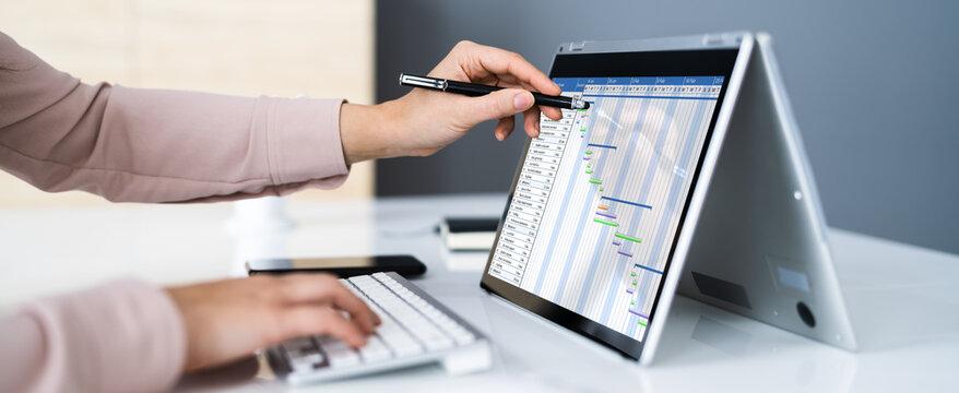 Gantt Project Management Chart Software
