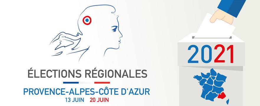 élections régionales et départementales en france les 13 juin et 20 juin 2021 mariane en paca
