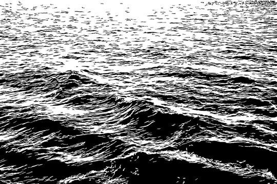 Waves on the Ocean Illustration