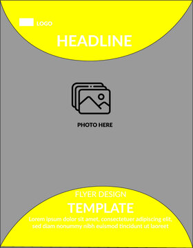 Yellow Flyer templates