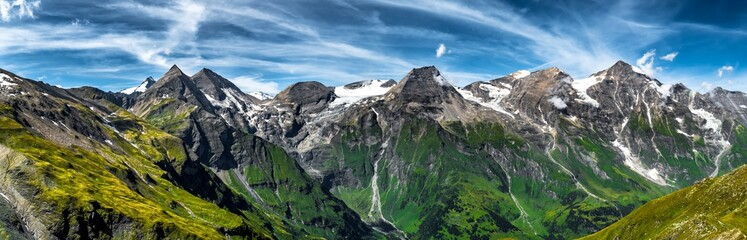 High Alpine Landscape With Mountains In National Park Hohe Tauern In Austria