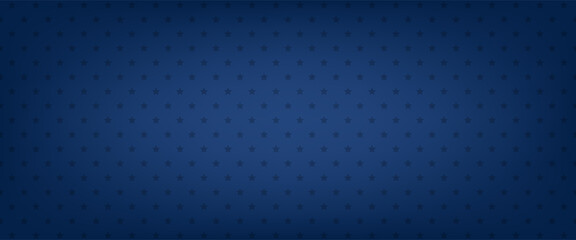 Fototapeta Blue star vector background. American banner. Patriotic pattern obraz