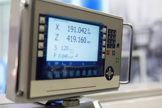 LCD screen digital readout dro lathe display
