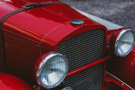 Restored old automobile