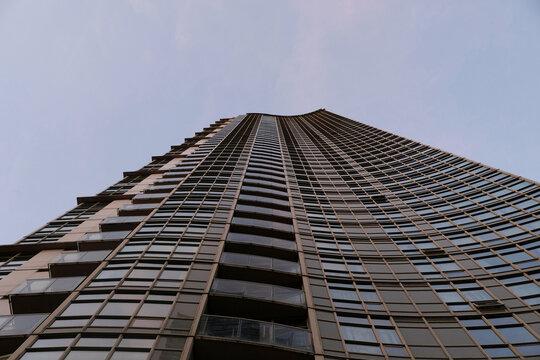 Modern Condo Building Looking Up