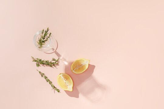 rosemary citrus water