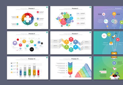Process Infographics Presentation Layout