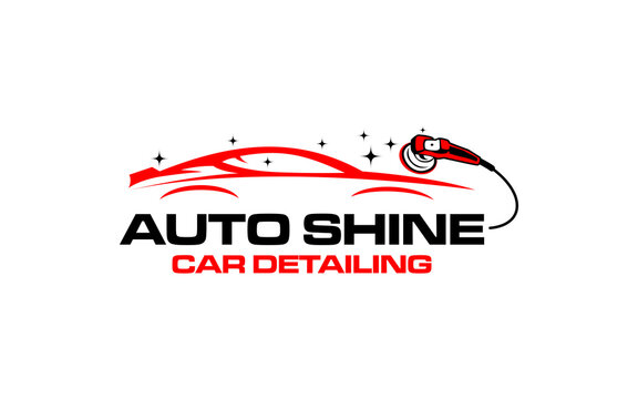 Illustration vector graphic of auto detailing servis logo design template-05