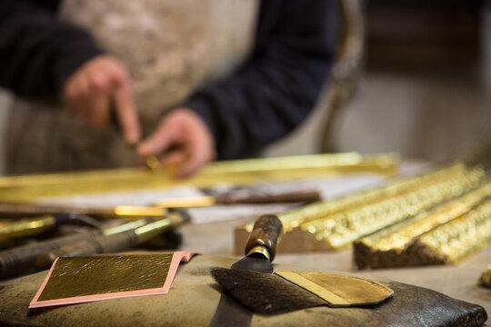 artisan workshop in Florence