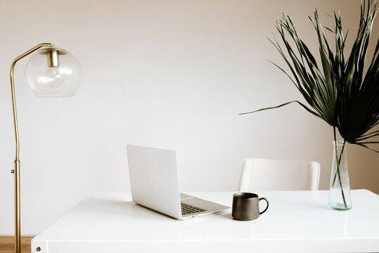 Modern Workspace Laptop Scene