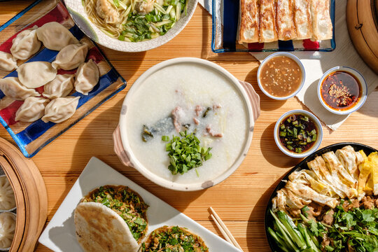 Congee Guangdong Chinese Food