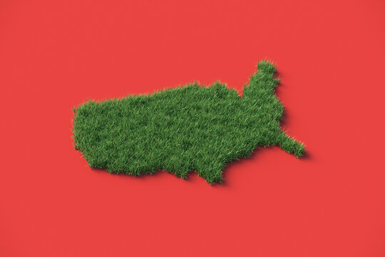 Grass Roots America (Red)