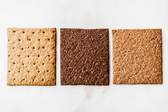 three different crackers