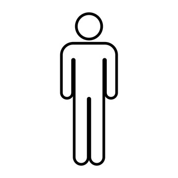 male or man icon vector
