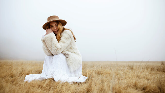 Bohemian young woman