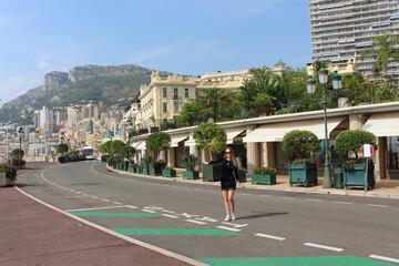 Bogata dziewczyna w Monte Carlo